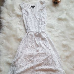 Lane Bryant Pure White Summer Dress